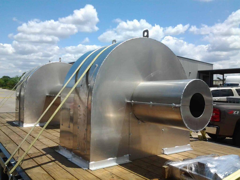 Aluminum Fabrication Houston, TX at JK Welding, LLC