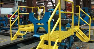 Platforms and Railings Houston, TX at JK Welding, LLC