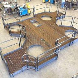 Platforms Railings Houston, TX at JK Welding, LLC