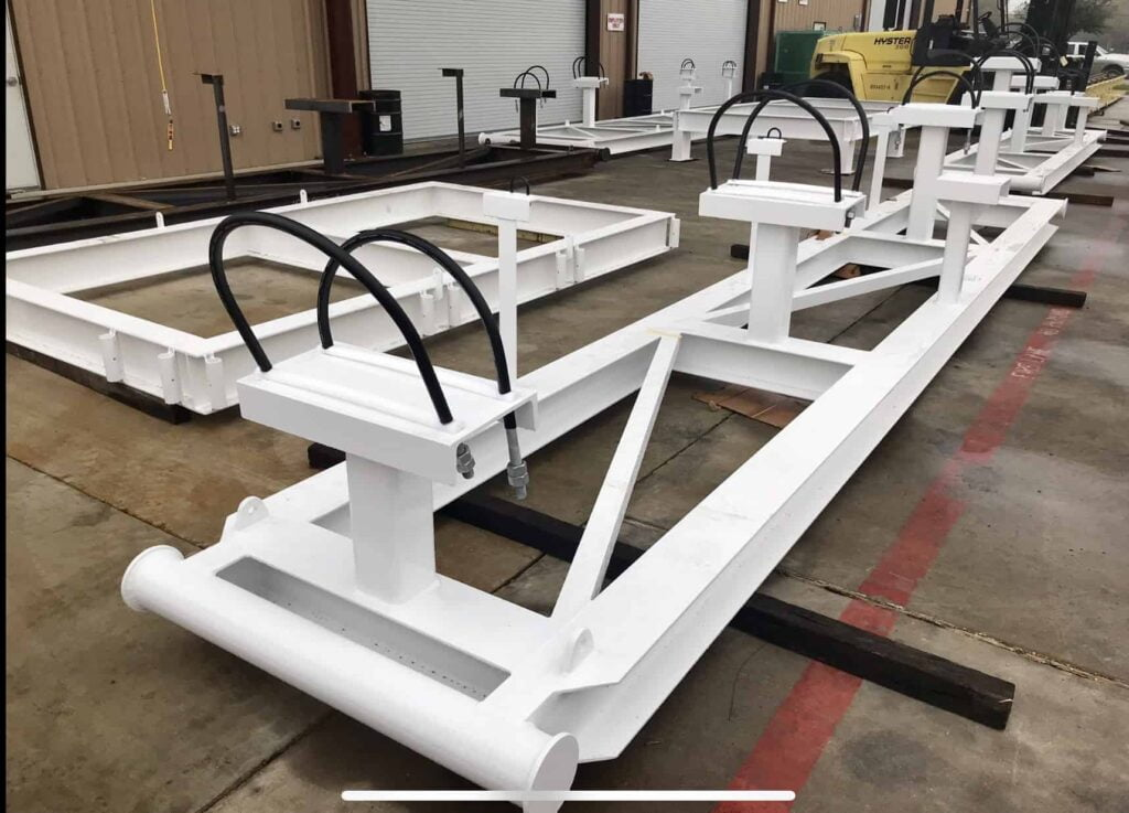 Skid Fabrication Services Houston, TX at JK Welding, LLC