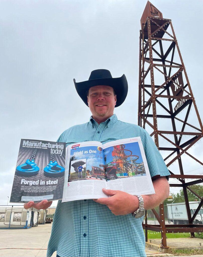 John King of JK Welding In Houston Texas