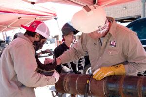 texas high school welding series - welding competition