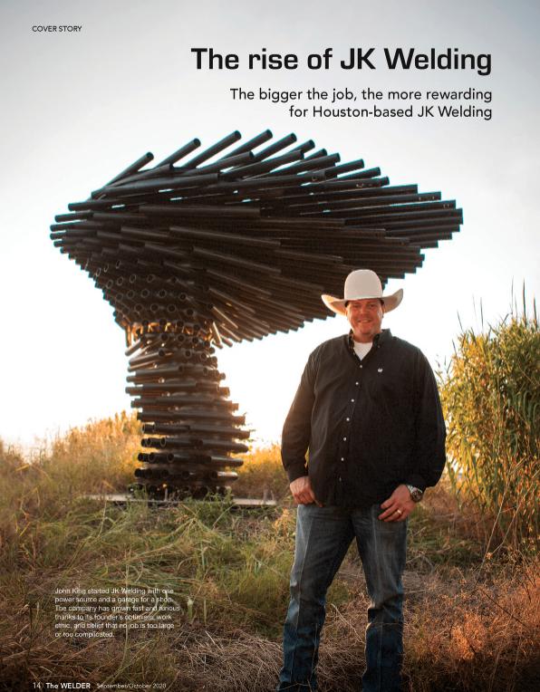 The welder magazine - houston fab shop