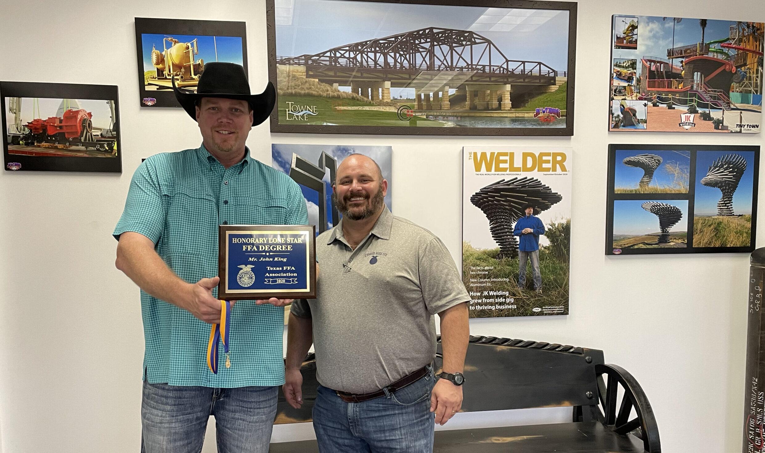 Honorary Lone Star Degree - John King - Texas FFA