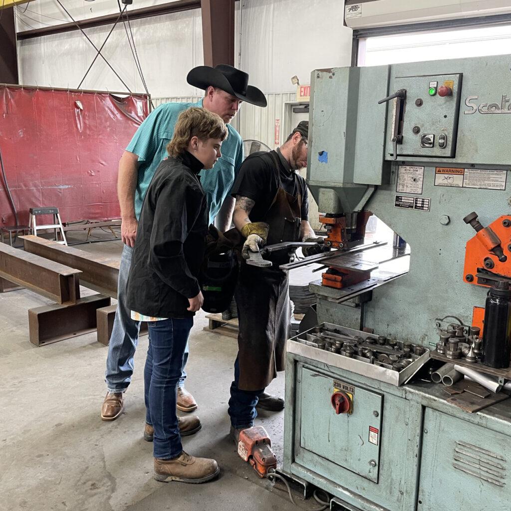 welding teacher