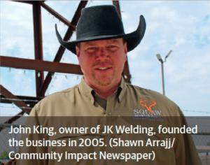 john king - founder of jk welding