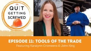 karalynn cromeens interviews john king - podcast feature